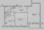 Продам двухкомнатную квартиру площадью 52 м²  (жилая 32 метра,  кухня 8