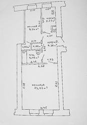 Уютная двухкомнатная квартира  в историческом центре Минска.